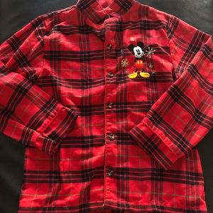 Mickey Mouse Pajama Set Size 7/8